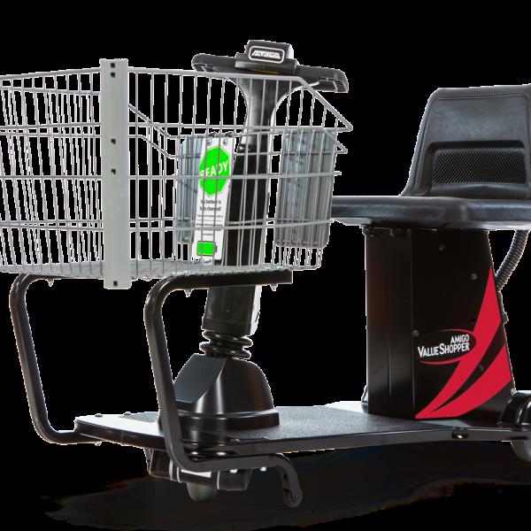 Amigo motorized shopping cart
